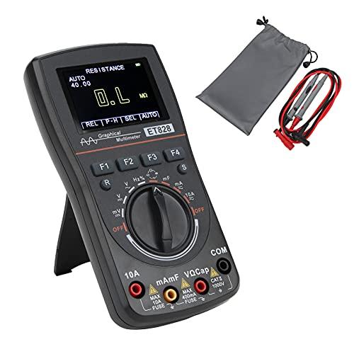 Osciloscopio Digital, Multímetro Digital Multifuncional Para Resistencia Para Capacitancia Para Electrónica Para Voltaje/Corriente