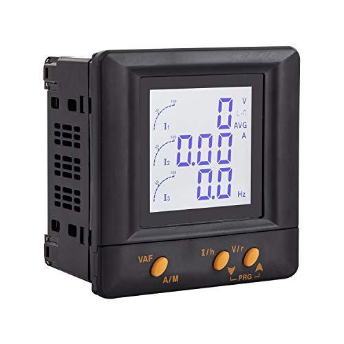 LEDKIA LIGHTING Pack Analizador de Redes Monofásico-Trifásico + 4 Transformadores de Intensidad 80 A