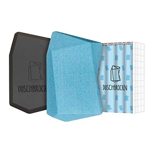 Duschbrocken - Maxi Minz I inkl. FAIRpackung I 2in1: Festes Shampoo und Duschgel in einem | für Haut und Haare | nachhaltig, vegan und plastikfrei | Höhle der Löwen | 100g