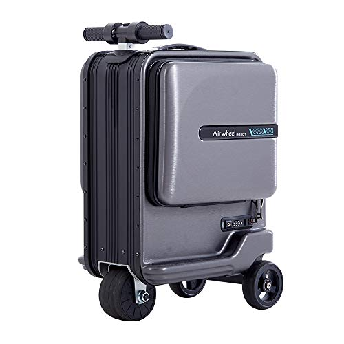 Airwheel SE3 Mini 20 Inch Smart Riding Suitcase with Removable Power Bank Battery