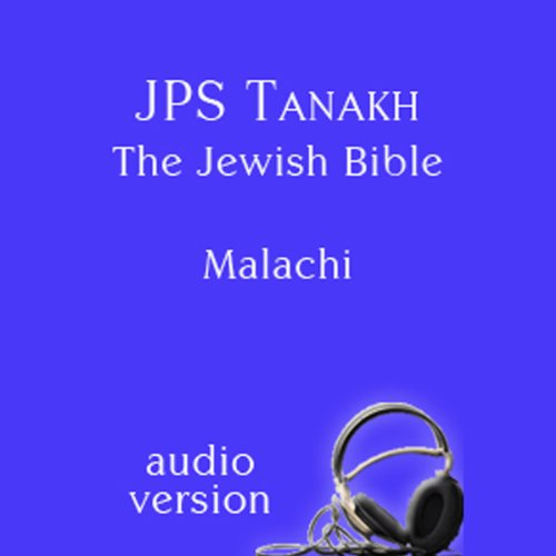 The Book of Malachi: The JPS Audio Version copertina