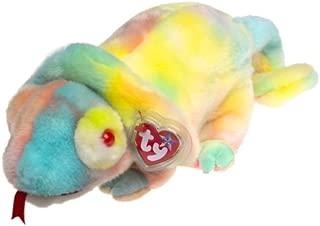 Ty Beanie Buddies Rainbow Tie Dye Chameleon Iguana