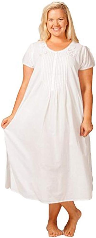 La Cera Women's Plus Size Nightgown