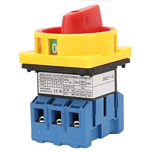 Lasttrennschalter Lasttrennschalter 3-poliger Nockenschalter mit 2 Positionen(40A)