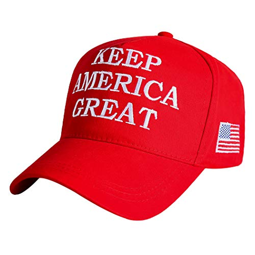 Make America Great Again Hat Donald Trump 2020 USA Cap Adjustable (KAG Red)