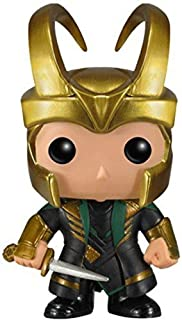 Best Funko POP Marvel (BOBBLE): Helmet Loki Action Figure Review