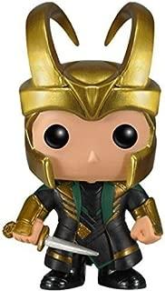 Funko POP Marvel (BOBBLE): Helmet Loki Action Figure