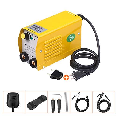 Schweißgerät,Kecheer Elektro-Schweißgerät,Lichtbogenschweißgerät 250 Ampere IGBT-Schweißmaschine Tragbarer für 2,5-3,2 mm Stangen zum Schweißen von Elektroarbeiten mit Sicherheitsset