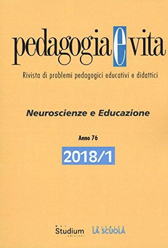PEDAGOGIA E VITA 1.2018: Vol. 1