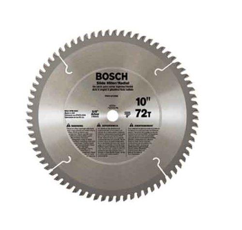 Bosch PRO1072SM 10 In. 72 Tooth Miter/Slide Miter Circular Saw Blade