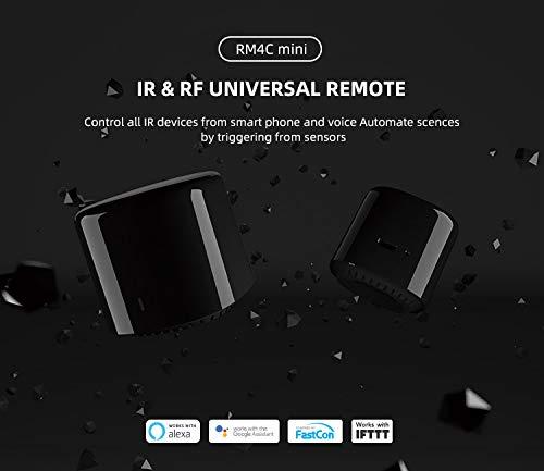 Bestcon RM4C mini telecomando universale IR Audio/Video, Smart Home WiFi Remote Hub, compatibile con Alexa