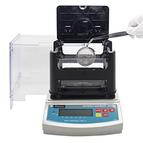 Huanyu DH-600 Medidor de densidad de plástico Gravímetro Daho Medidor Densímetro digital 600/0.005g 0.001g / m3