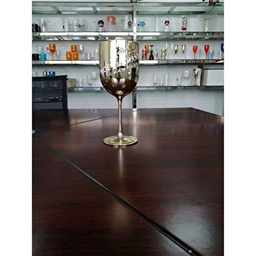 2 Stücke Champagner-Flöten, Weingläser Champagner-Coupes Cocktailglas Für Moet Champagner-Flöten-Plattieren Weinbecher Becher Galvanisierter Kunststoff Weinglas (Color : Gold, Size : 2pcs)