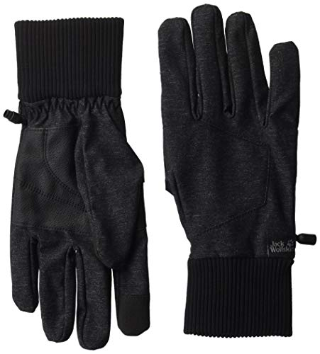 Jack Wolfskin Herren Winter TRAVEL Glove Men Handschuhe, Black, M