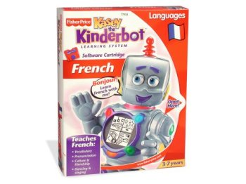 None Kasey the Kinderbot Software Cartridge - Language: French