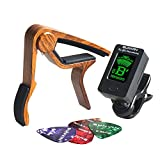 Best Clip On Tuners - SUNYIN Guitar Tuner and Capo&Picks,Clip-on Digital Tuner For Review