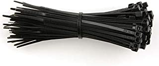 Nylon Cable Ties Size 200mm x 2.5mm (TR4)   Black 100 pc pack
