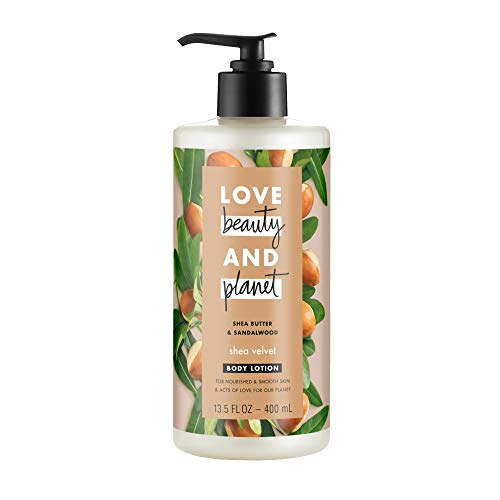Love Beauty And Planet Body Lotion Shea Velvet Now $3.32 (Was $8.99)