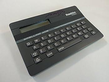 Franklin Computer Spelling Ace Gray Merriam Webster SA-98 V1