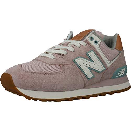 New Balance Damen Laufschuhe WL574 BCN Pink 36.5 EU thumbnail