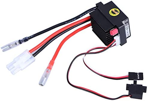 GEZICHTA ESC 320A Brushed Motor Replacement Speed Controller for RC Boat Car High Voltage product image