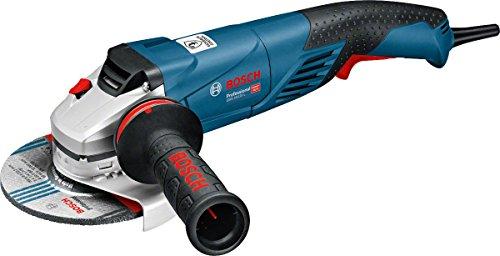 Bosch Professional GWS 18-125 SL - Amoladora angular (1800 W, Ø disco 125 mm, Antivibration, velocidad variable, en caja)