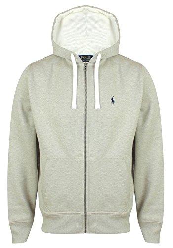 Ralph Lauren Hoodies Sweatjacke Jacke (XL, Hellgrau Meliert)