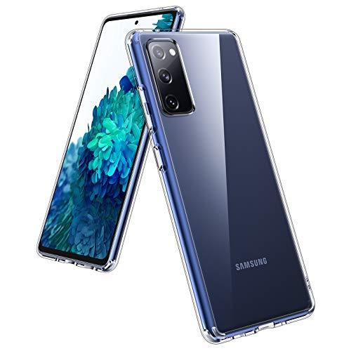 UNBREAKcable Funda para Samsung Galaxy S20 FE– [Anti-Amarilleo] Carcasa Protectora Antigolpes Transparente con Esquinas Anti-Caídas y Parachoques Suave para Samsung Galaxy S20 FE (5G) - 6.5''