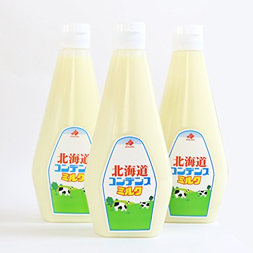 業務用 北海道 コンデンスミルク チューブ 1kg×3本