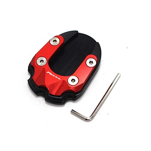 para Honda Forza 125 Forza 300 2018 FORZA125 FORZA300 Accesorios DE MOTORIA DE MOTORIA Padre DE MOTICA DE Pendiente DE Pendiente Ampliar Pad PADE Pad DE ANTENCE (Color : Red)