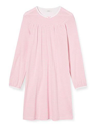 ESPRIT Bodywear Mädchen Girlie Mix MG Nightshirt Nachthemd, 680/OLD PINK, 128/134