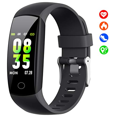 【2019 Updated Version】Fitness Trackers with Heart Rate Monitor, Activity...