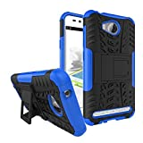 Smfu Coque Compatible avec Huawei Y3ii Coque+Protection Verre Trempé 2 pièces 360 Degres...
