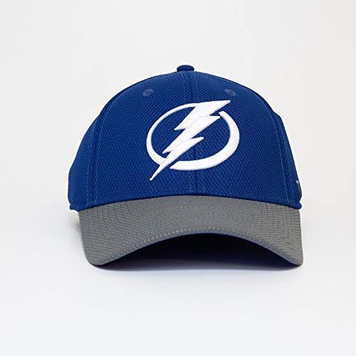 adidas Tampa Bay Lightning 2019/20 NHL Coach Flex Fit NHL Cap, L/XL