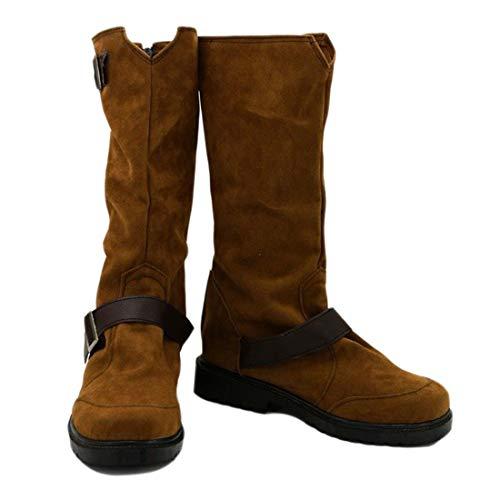 YYFZ Anime Cosplay Boots Masquerade Schuhe Mens niedrige Ferse Stiefel Benutzerdefinierte Version,Men's size-39