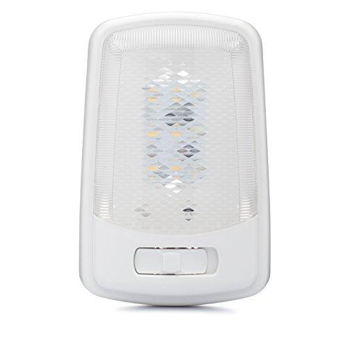Lumitronics RV LED Lights Interior - Camper Ceiling Light Fixture 12V (volt) LED with Removable Lens