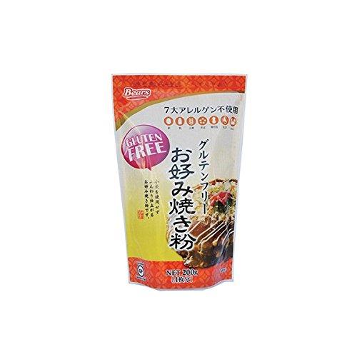 熊本製粉『グルテンフリー お好み焼き粉』