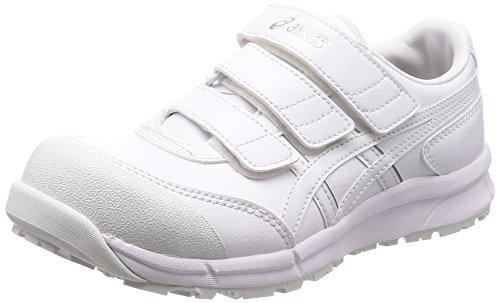 [アシックス] ワーキング 安全靴/作業靴 ウィンジョブ CP301 JSAA A種先芯 耐滑ソール αGEL搭載 ホワイト/ホワイト 24.0