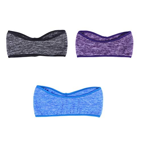 Lurrose Sport oorwarmer winter hoofd wikkelen elastische oorafdekking zweetband