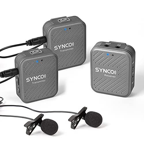 SYNCO Lavalier Funkmikrofon G1(A2),...