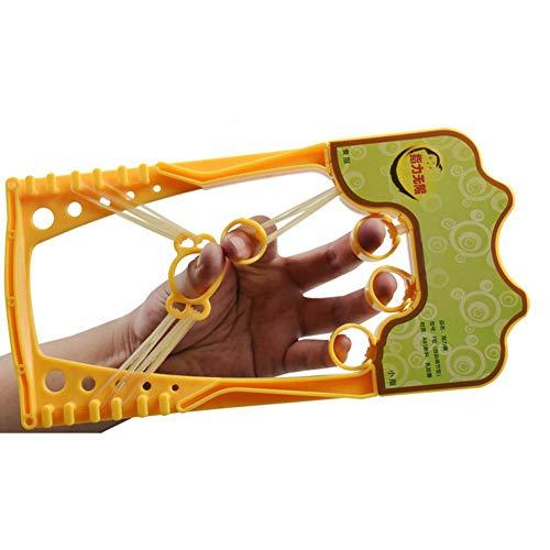 aheadad Fingertrainingsgerät Handstärkungsmittel Expertenhand Fingertrainingsgerät für Griffübungen Gitarre Klavierübungen Spielen Harfe Klettern Training-Gelb