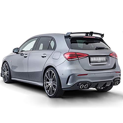 WXQYR ABS Car trunk air separator car rear roof spoiler bumper tail wing lip for Mercedes Benz A Class W177 A180 A200 A250 A260 A45 AMG Hatchback 2019 2020 2021 car Accessories