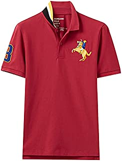 Giordano Men's T-Shirt 3D Napoleon Polo