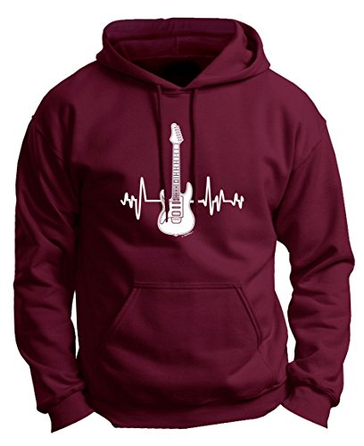 Electric Guitar Heartbeat Sweatshirt
