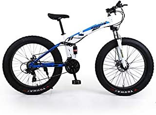 EGO TECHNOLOGY Bicicleta Plegable 26´ Fat Tire Doble Suspension Shimano