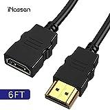 [page_title]-iNassen Hochgeschwindigkeits HDMI Verlängerungskabel, HDMI Verlängerung Extension TV Stick Adapterkabel 1.8m