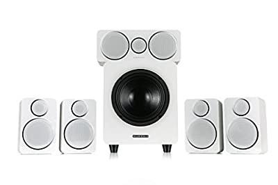 Wharfedale DX-2 5.1 Speaker System (White) from Wharfdale