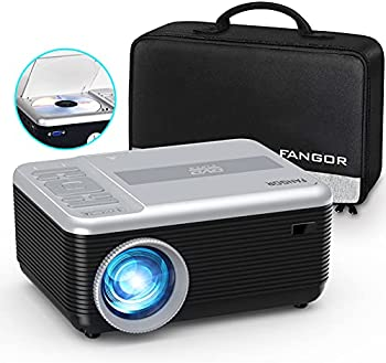 Fangor Portable Projector with Built-In DVD Player