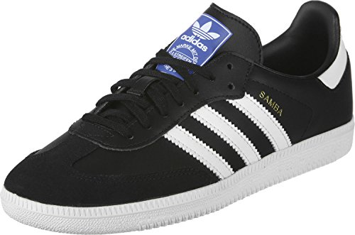 adidas Unisex-Kinder Samba Og J Fitnessschuhe, Schwarz (Negro 000), 38 EU