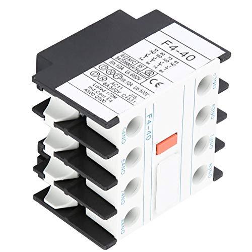 Omabeta Hilfsschütz Touch Kleine Größe F4-40 Hilfs-Einfachmontage für die Elektrik